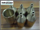 Bronze/CNC de alumínio/de aço da precisão que faz à máquina para a maquinaria industrial