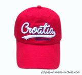 Broderie coton Burshed Cap Casquette de baseball Sports de promotion de la broderie