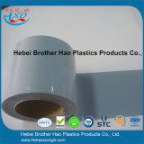 유연한 매끄러운 회색 불투명한 플라스틱 비닐 PVC 커튼 문 지구