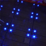 Azulejos de suelo ligeros solares interiores de la cubierta del diseño WPC de la manera de la decoración