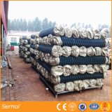 Гальванизированная загородка звена цепи PVC Coated с хорошим ценой