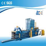 Польностью горизонтальная гидровлическая тюкуя машина Hba100-110110 для пластмассы