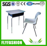학교 테이블 의자 고정되는 교실 책상 가구