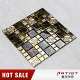 плитка стены мозаики цветка 300X300mm золотистая отборная
