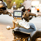 Навигация GPS мотоцикла 4.3 дюймов водоустойчивая
