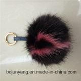 Шикарный Pompom шерсти для цепи шерсти Fox POM вспомогательного оборудования шарика шерсти Keychain Poms ключевой