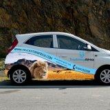 高品質車の手段の覆いのステッカーの印刷をカスタム設計しなさい