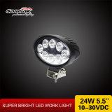 5.5inch楕円形24W自動オフロードLED作業ライト