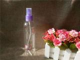 [250مل] زجاجة مستديرة بلاستيكيّة مع مضخة زرقاء ([بتب-06])