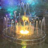Mini de la música al aire libre o de interior, decoración del jardín de la fuente de agua