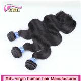 인도 Virgin 머리 바디 파 자연적인 색깔 자연적인 사람의 모발