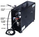 As196ak 2016の非常に普及した製品の小型エアブラシの圧縮機キットの専門の小型圧縮機