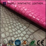 Het Synthetische Leer van uitstekende kwaliteit van pvc voor de de Moderne Zakken/Handtassen van de Vrouw zou/In zakken doen/Beurs/Schoenen moeten