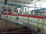 Línea de embotellamiento transportador para las botellas llenas y las latas