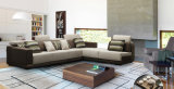Sofá de tela de diseño moderno de muebles