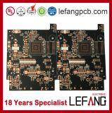 Enig 매트 까만 땜납 가면 회로판 PCB 공장
