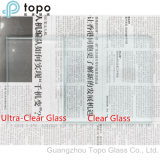 3mm-19mm Low Iron Ultra Clear Float 1er grade de verre (UC-TP)