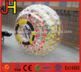 bola humana inflable transparente colorida del PVC TPU Zorb del 1.8m