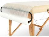 Massagem das tampas da mesa Lençóis Rolo descartáveis