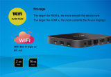 WiFi sec 4k du faisceau 2.4G&5.8g de quarte du cadre 2GB 16GB de l'androïde 6.0 neufs TV du poste Tx5 PRO Amlogic S905X de P&Y 2016