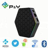 Kodi 고품질을%s 가진 17.0 Ott 인터넷 IPTV 지능적인 S912 텔레비젼 상자 Pendoo T95z 2g 16g