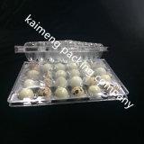 2017 Bandejas de ovo de 30cell com venda quente Bandejas de plástico de plástico transparente para pacote de codornas (bandejas de plástico em PVC)