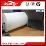 Jumbo Roll 50inch Non - Curl Fast Dry 57GSM Sublimation Transfer Paper with High Speed Printer