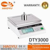 DTY1000 Equilíbrio Eletrônico Visor LCD escala utilizada no laboratório