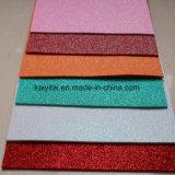 Отличное качество пользовательских Блестящие цветные лаки малыша цветной лист из пеноматериала EVA