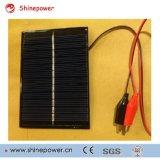 Mini comitato solare per i giocattoli solari, indicatore luminoso solare portatile