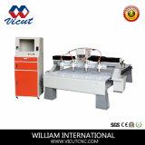 Multi-Kopf hölzerne CNC-Fräser-Holzbearbeitung-Maschinen-hölzerne Gravierfräsmaschine