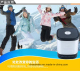 Neue silberne metallische Qualität beweglicher drahtloser MiniBluetooth Lautsprecher