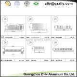 알루미늄 또는 건축재료 빗 알루미늄 단면도 방열기