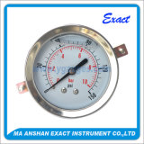 中央接続圧力正確に測反振動オイルの正確に測グリセリンによって満たされる圧力計