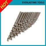 Bits de broca das ferramentas de potência M35 DIN338 para o aço inoxidável da perfuração