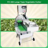 Corte em cubos vegetal da estaca do cortador da salada automática industrial da folha dos bróculos da alface de repolho e linha de lavagem máquinas da arruela