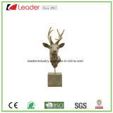 Статуя скульптуры оленей Polyresin мирная для украшения дома и сада
