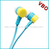 2016 Moda Wholesale Headsets Colorful Wired Stereo Earphone