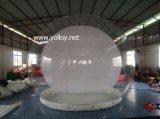 Tienda inflable del césped de la burbuja clara para acampar
