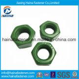 DIN934 noix Hex de l'acier inoxydable 304 avec la surface de teflon