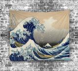 بوليستر جدار [هنجنغس] مفتشة شاطئ مطرّز