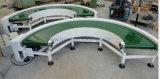 180 Grad Belüftung-Riemen-gebogene Förderanlage mit Kohlenstoffstahl-Rahmen