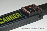 機密保護ボディスキャンナー、手持ち型の金属探知器