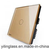 Закаленное стекло печатной платы и шаблон переключатель панели сенсорного экрана