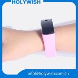 Wristbands repulsivos impressos logotipo do silicone do mosquito de Debossed