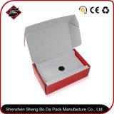 Logotipo personalizado Caja de papel de regalo de cartón ondulado para productos electrónicos