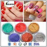 Pigmentation Mica Mille d'ongle, pigment perle coloré pour le maquillage