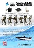 contaminación cero externa del barco 20HP de la propulsión eléctrica externa eléctrica eléctrica del motor