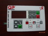 Membranen-Noten-Schalter der Dünnfilm-Metallabdeckung-LED mit dem Silk Bildschirm gedruckt