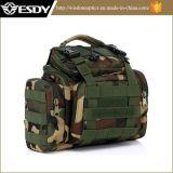 Esdy Camouflage Camping Câmara Multifunção bolsa à cintura